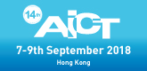 AICT 2018, 7-9 September, Hong Kong