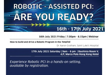 Robotic-Assisted PCI, 16-17 July 2021